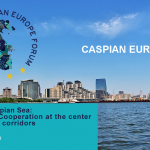 CASPIAN EUROPE FORUM Ports at the Caspian Sea:Competition & Cooperation at the center of international corridors24. February 2021ROUND TABLE