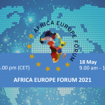 AFRICA EUROPE FORUM17-18 May 2021Virtual Conference LIVE